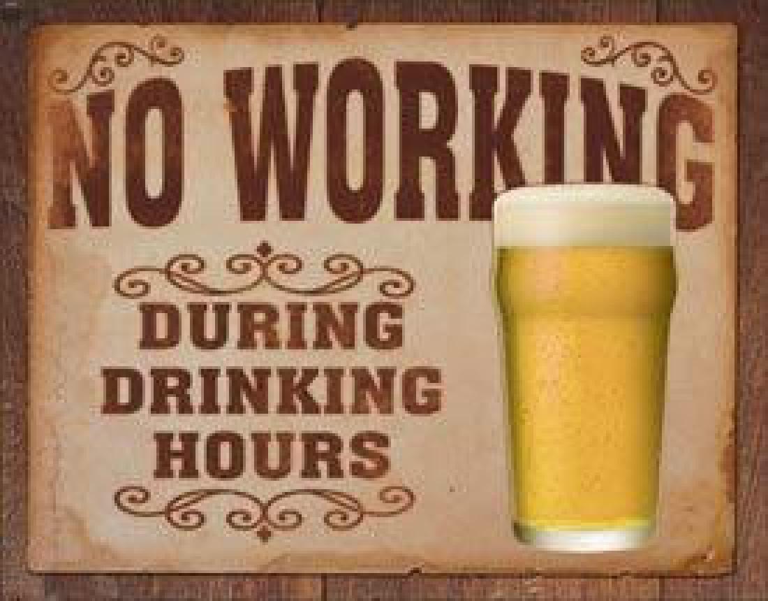 No Working
