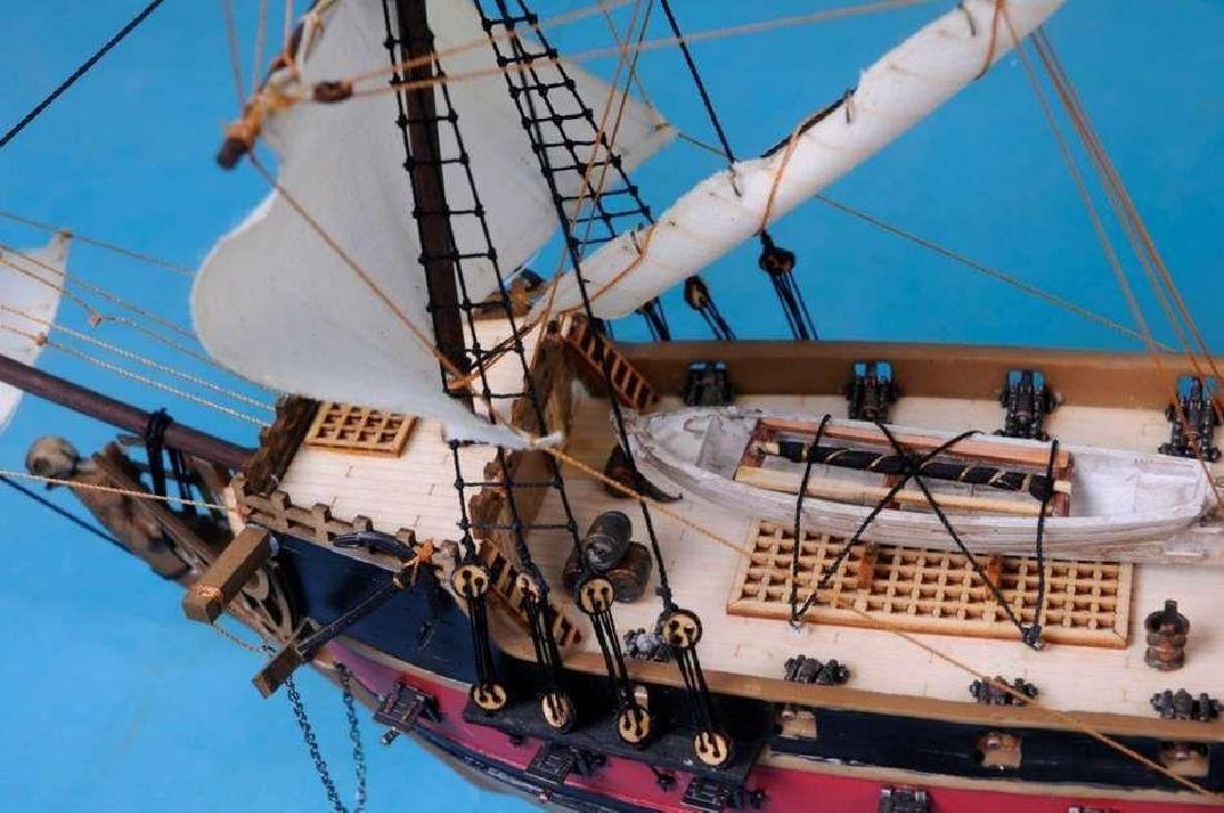"Black Bart's Royal Fortune Model Pirate Ship 36"" - - 2"