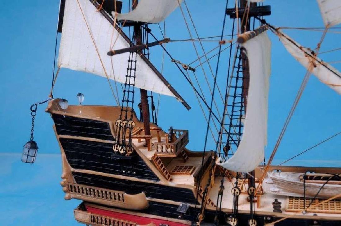 "Black Bart's Royal Fortune Model Pirate Ship 36"" - - 3"