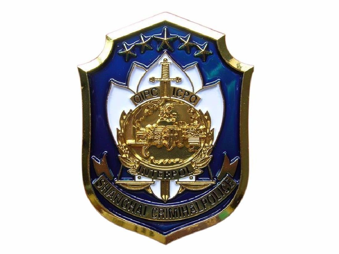 Shanghai City Crimihal Police,China,ICPO,Interpol - 2