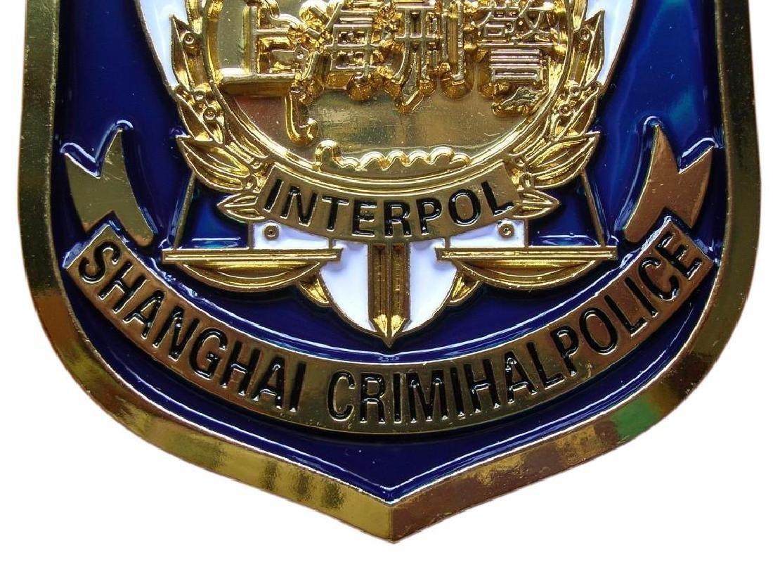Shanghai City Crimihal Police,China,ICPO,Interpol - 3