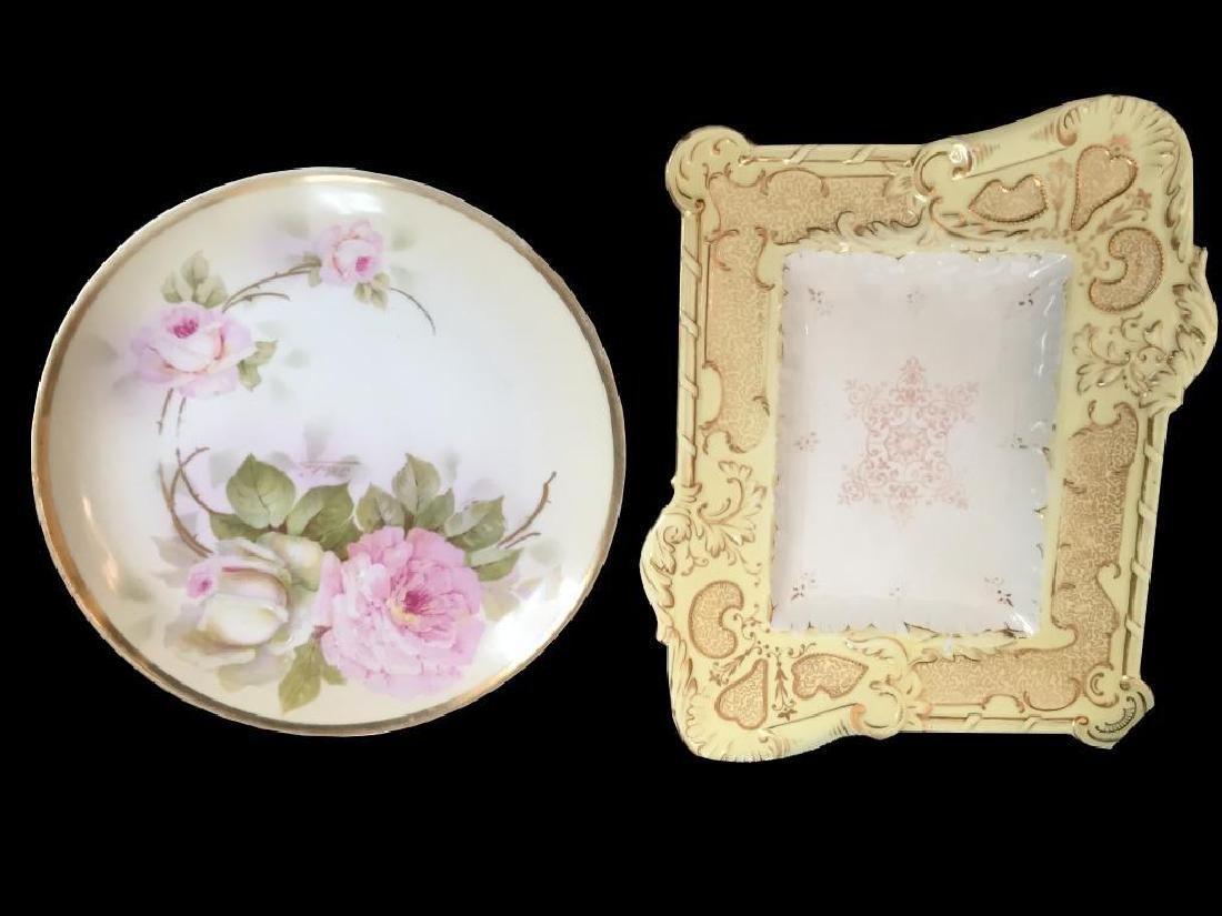 Royal Rudolstadt & Coalport Antique Plates