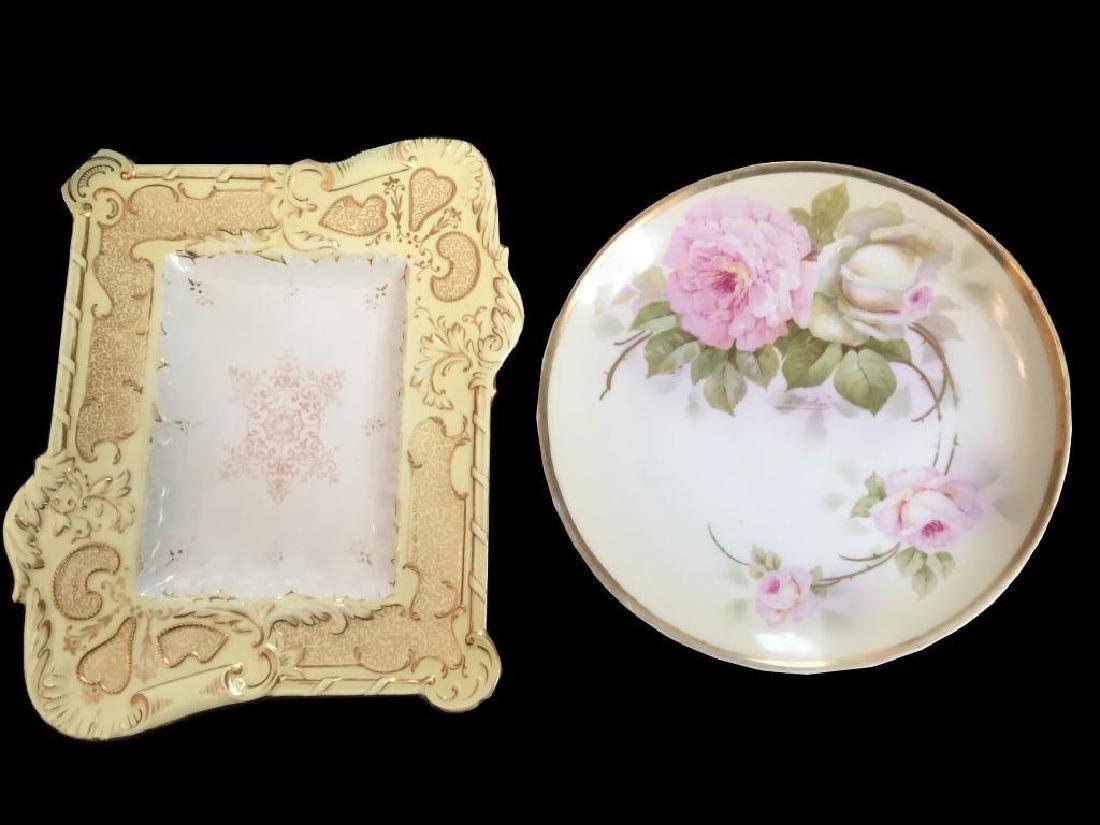 Royal Rudolstadt & Coalport Antique Plates - 5
