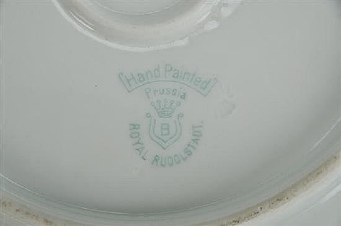 Royal Rudolstadt & Coalport Antique Plates - 6