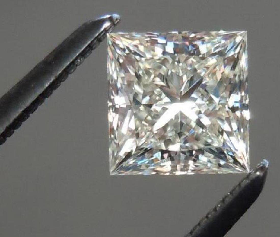 5ct Princess Cut BIANCO Diamond