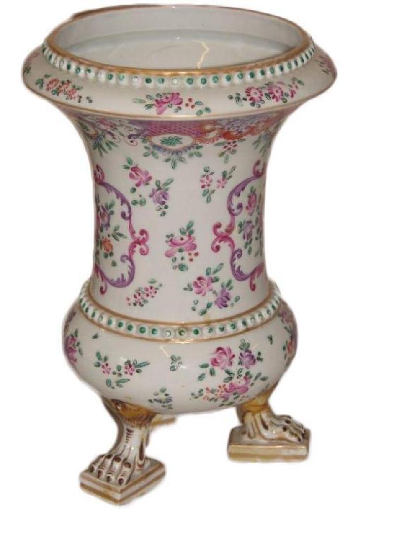 19thc Matched Pair, Victorian Porcelain Vases - 4