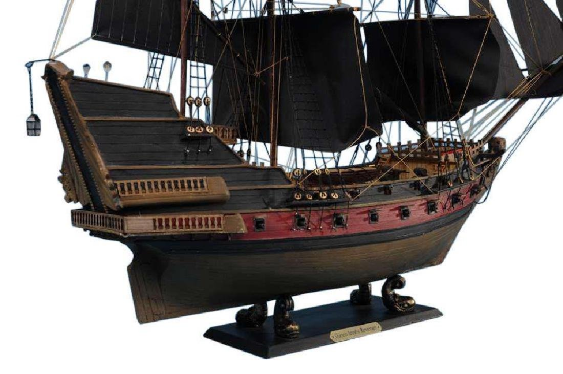 Black Bart's Royal Fortune Limited Model Pirate Ship