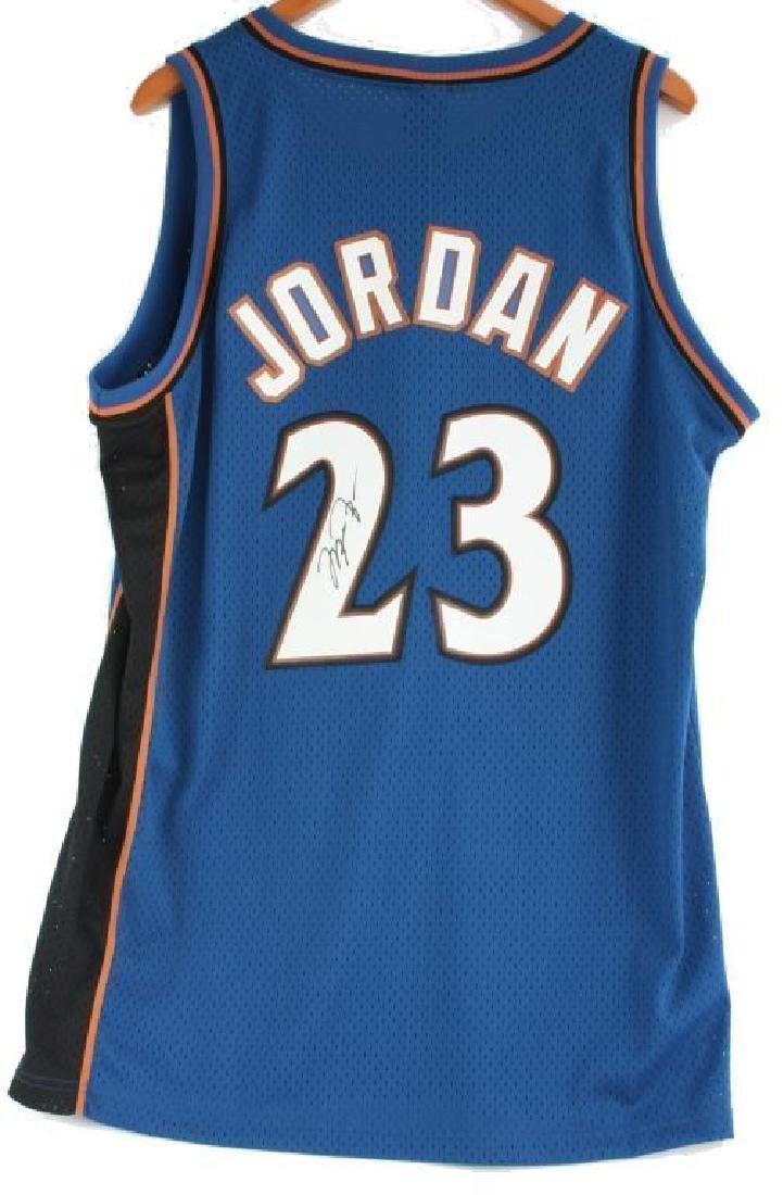 Autographed Michael Jordan, #23 Wizards Jersey