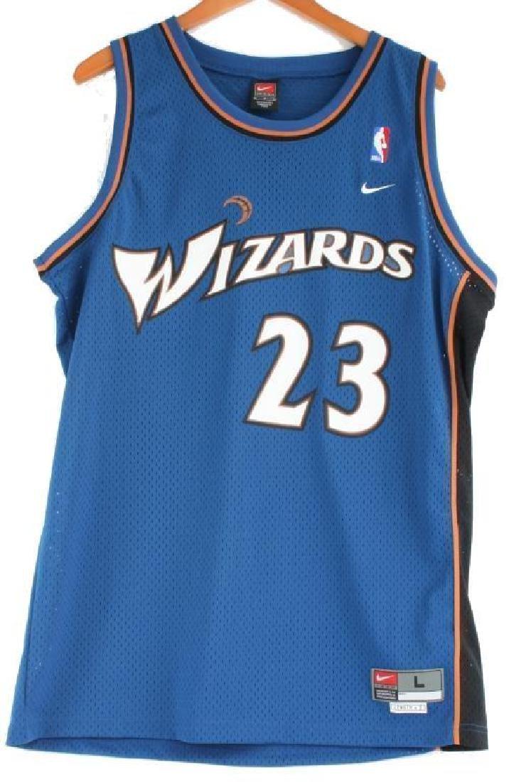Autographed Michael Jordan, #23 Wizards Jersey - 2