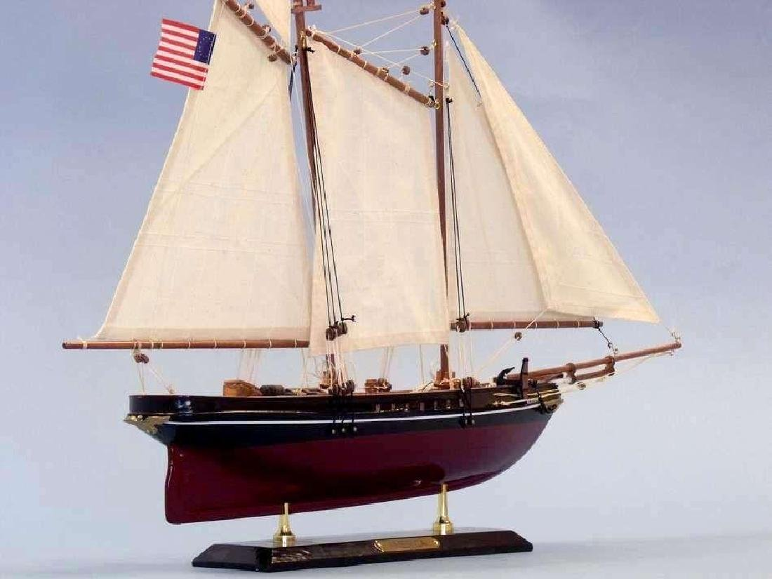 "Wooden America Limited Model Sailboat 24"" - 2"
