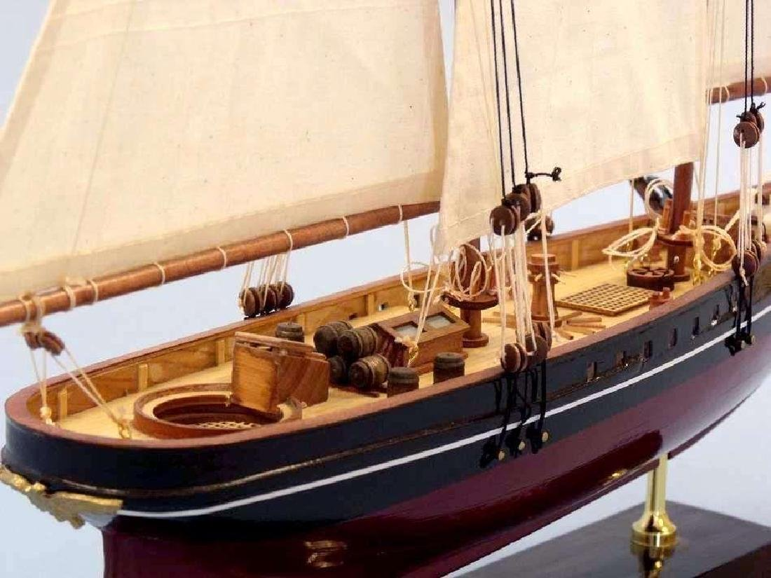 "Wooden America Limited Model Sailboat 24"" - 9"