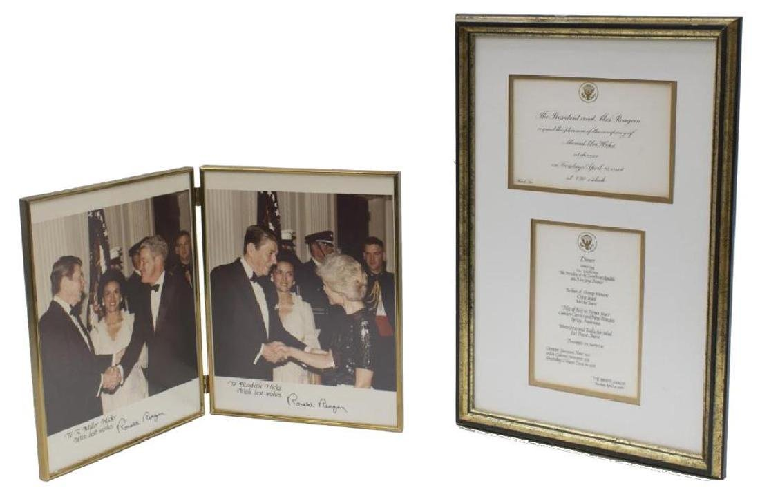 (3) President Ronald Reagan Photos, White House