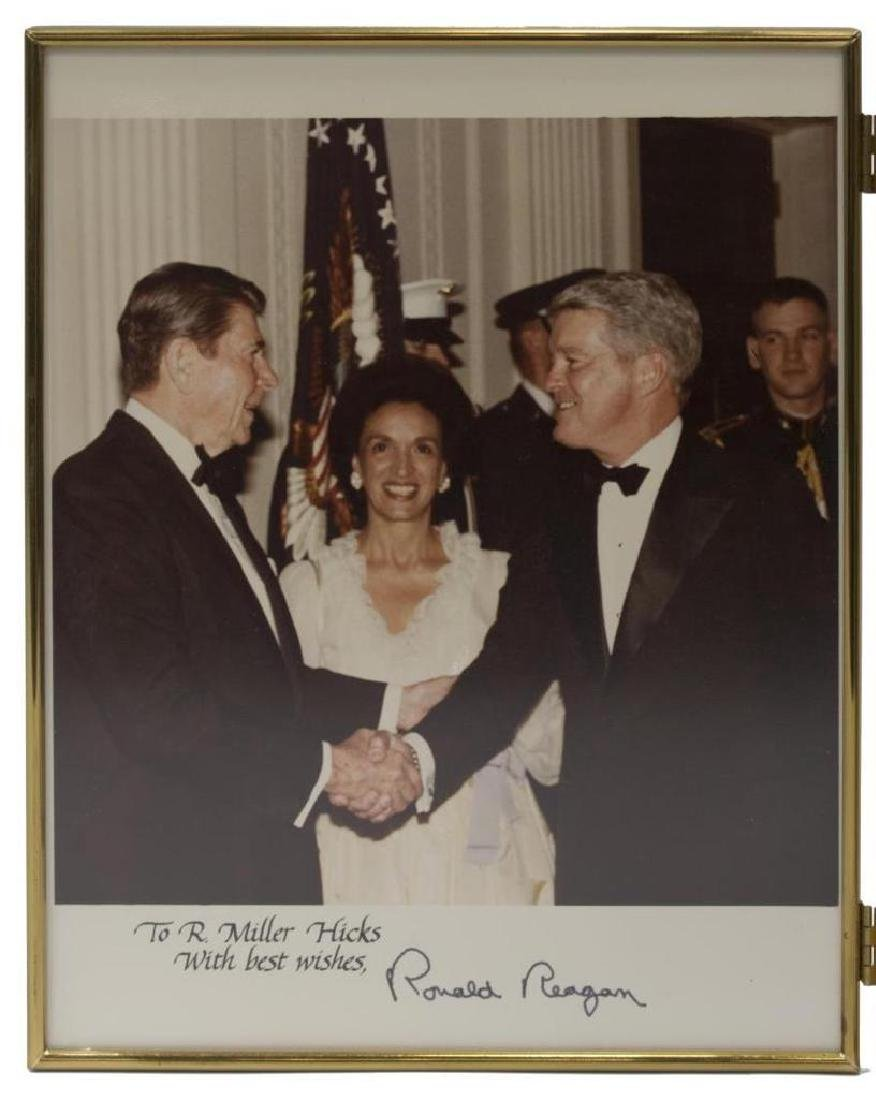 (3) President Ronald Reagan Photos, White House - 3