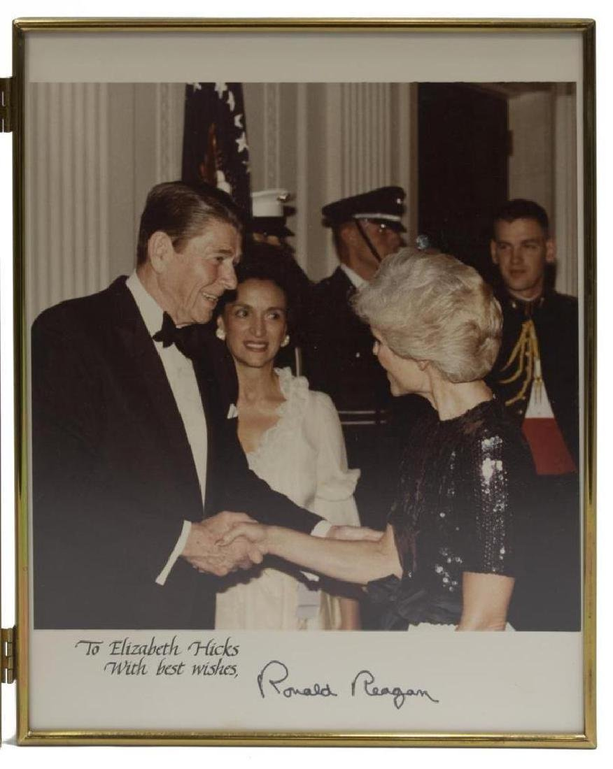 (3) President Ronald Reagan Photos, White House - 4