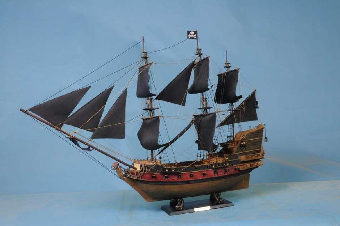 Captain Kidds Black Falcon Limited Model Pirate Ship