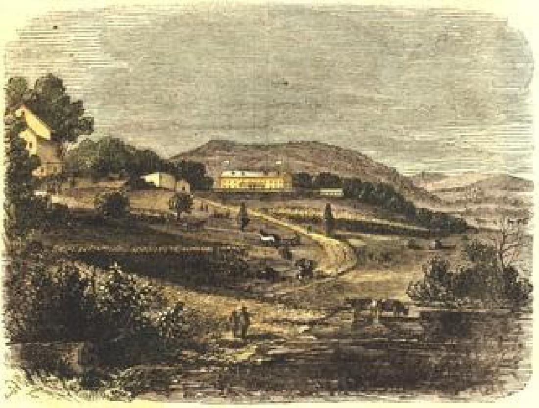 Freedman's Farm School Harper's Weekly 1867.