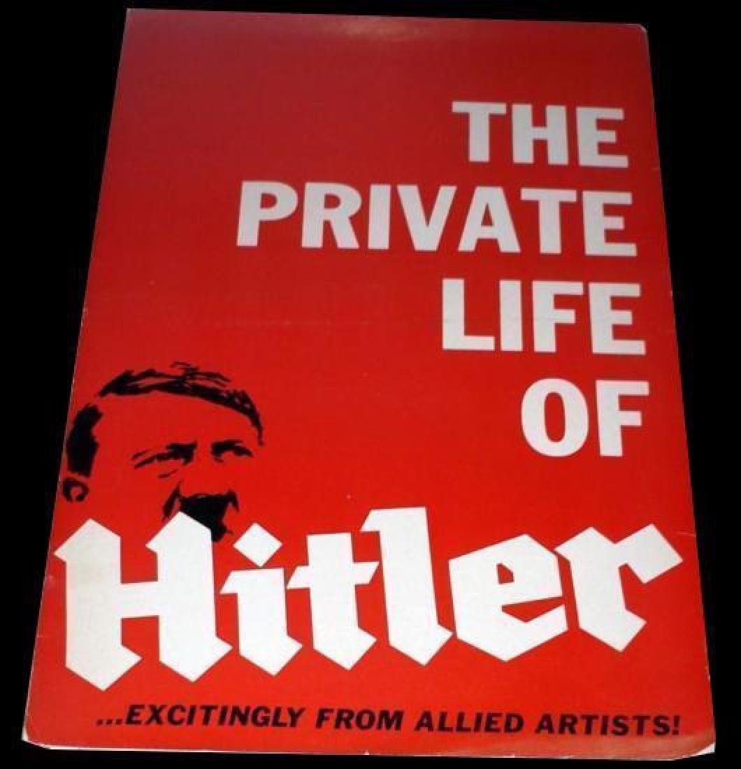 Original 1962 HITLER Movie Pressbook