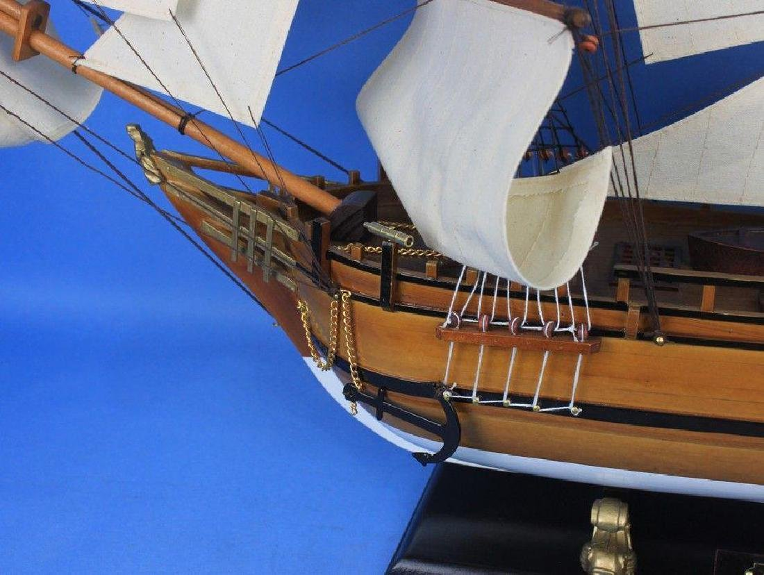 Wooden Charles Darwins HMS Beagle Limited Model Ship - 5