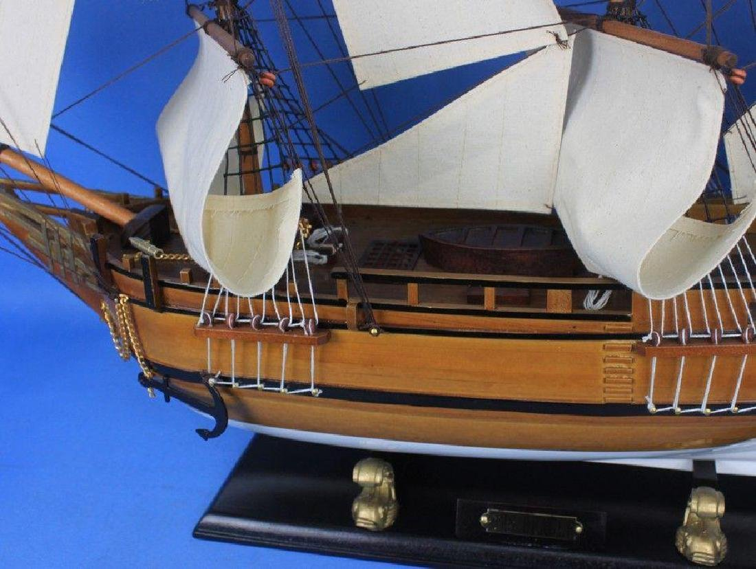 Wooden Charles Darwins HMS Beagle Limited Model Ship - 7