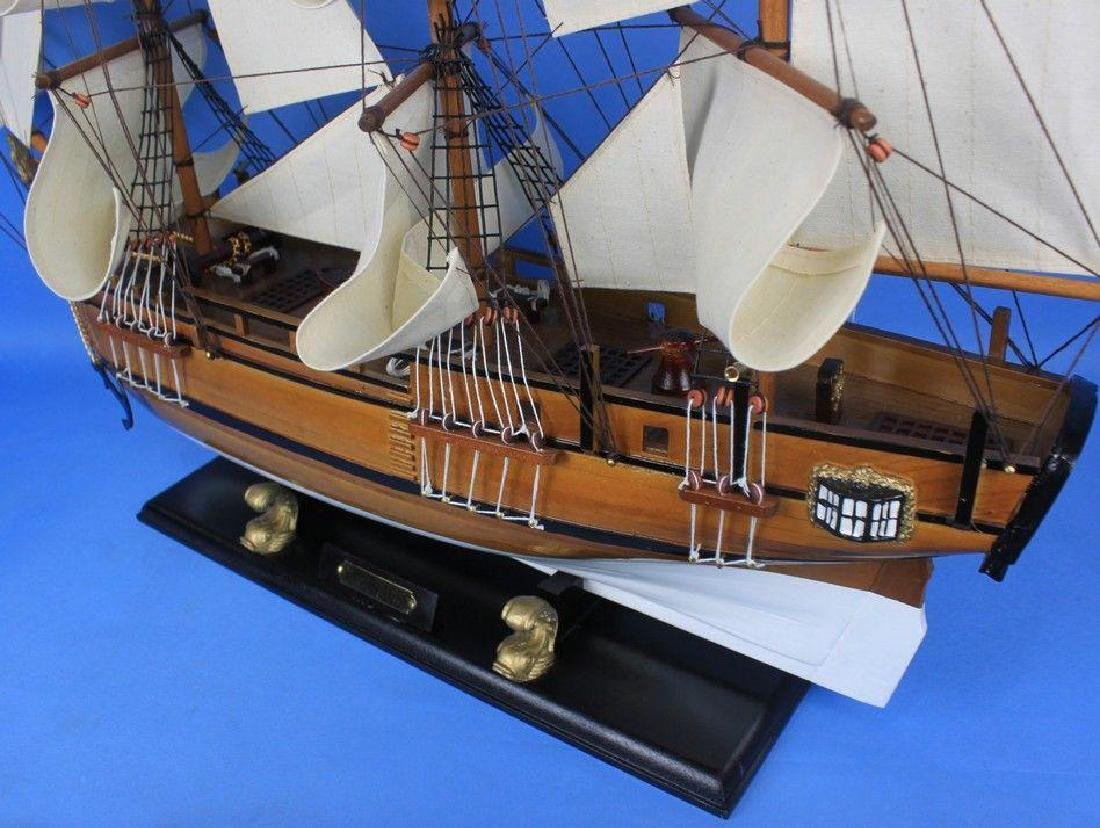Wooden Charles Darwins HMS Beagle Limited Model Ship - 9
