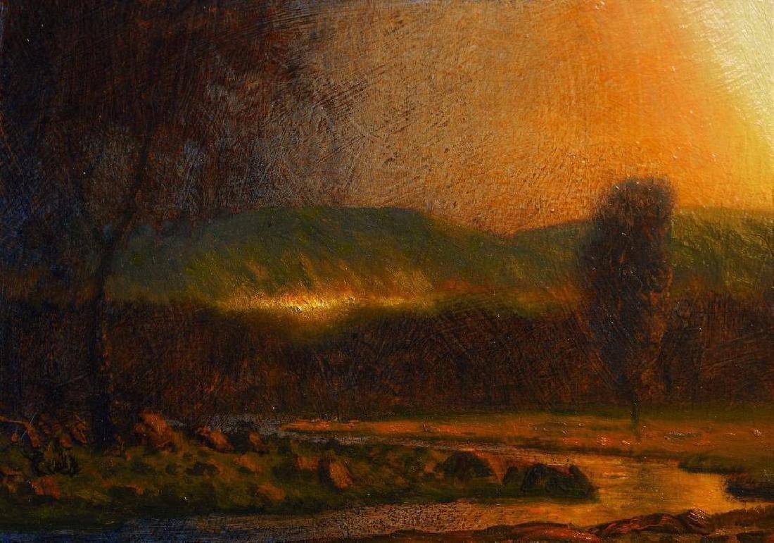 Original Oil Painting Landscape Signed On Canvas
