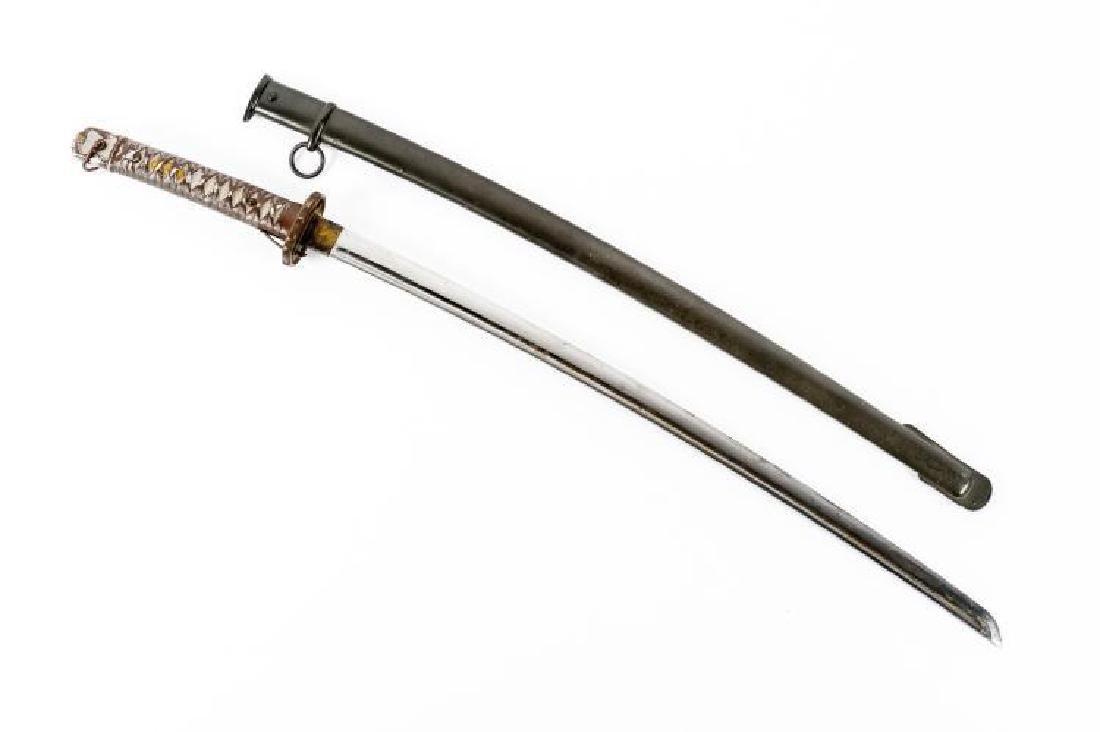 WWII Japanese Katana Sword - 2