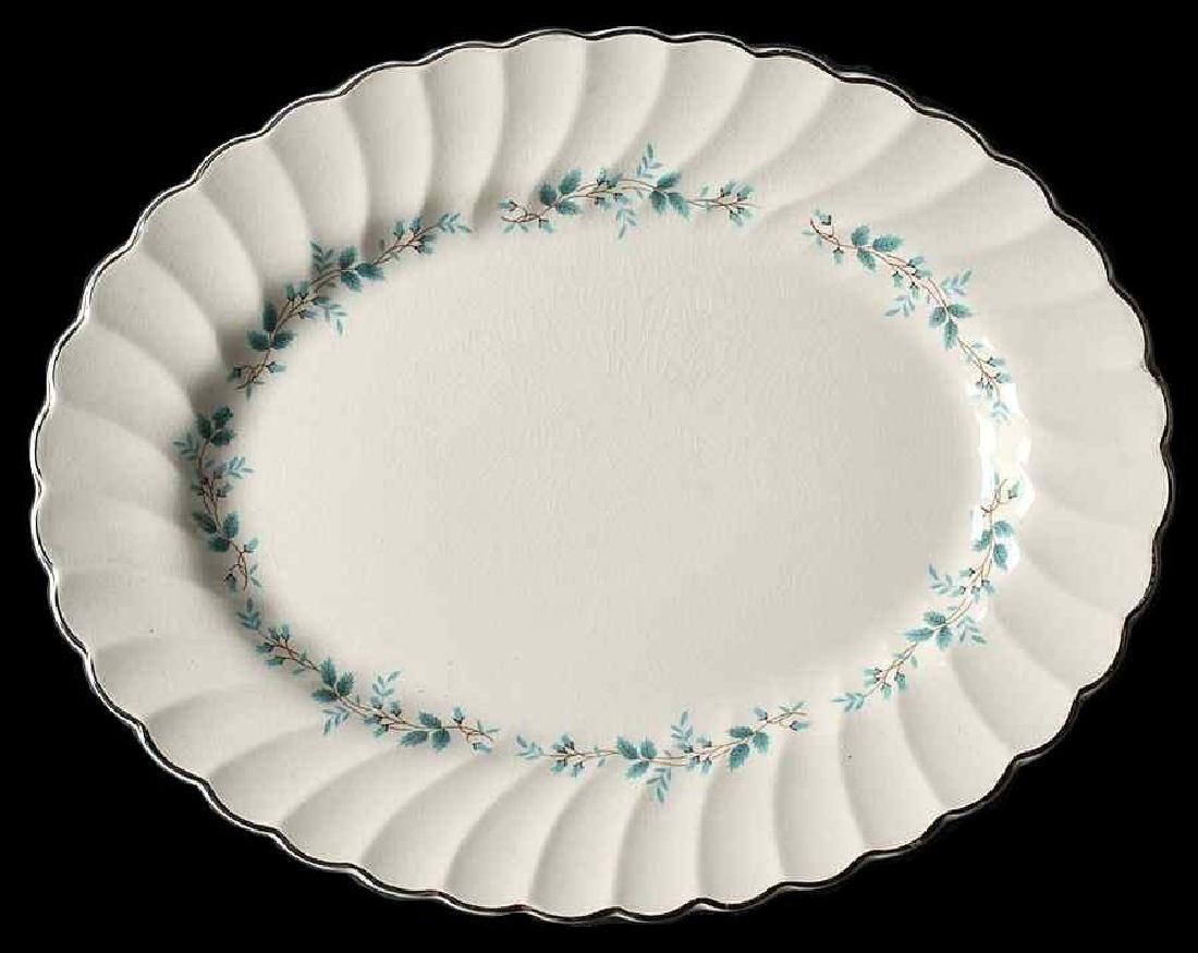 Original Myott Staffordshire Bluebell Oval Platter