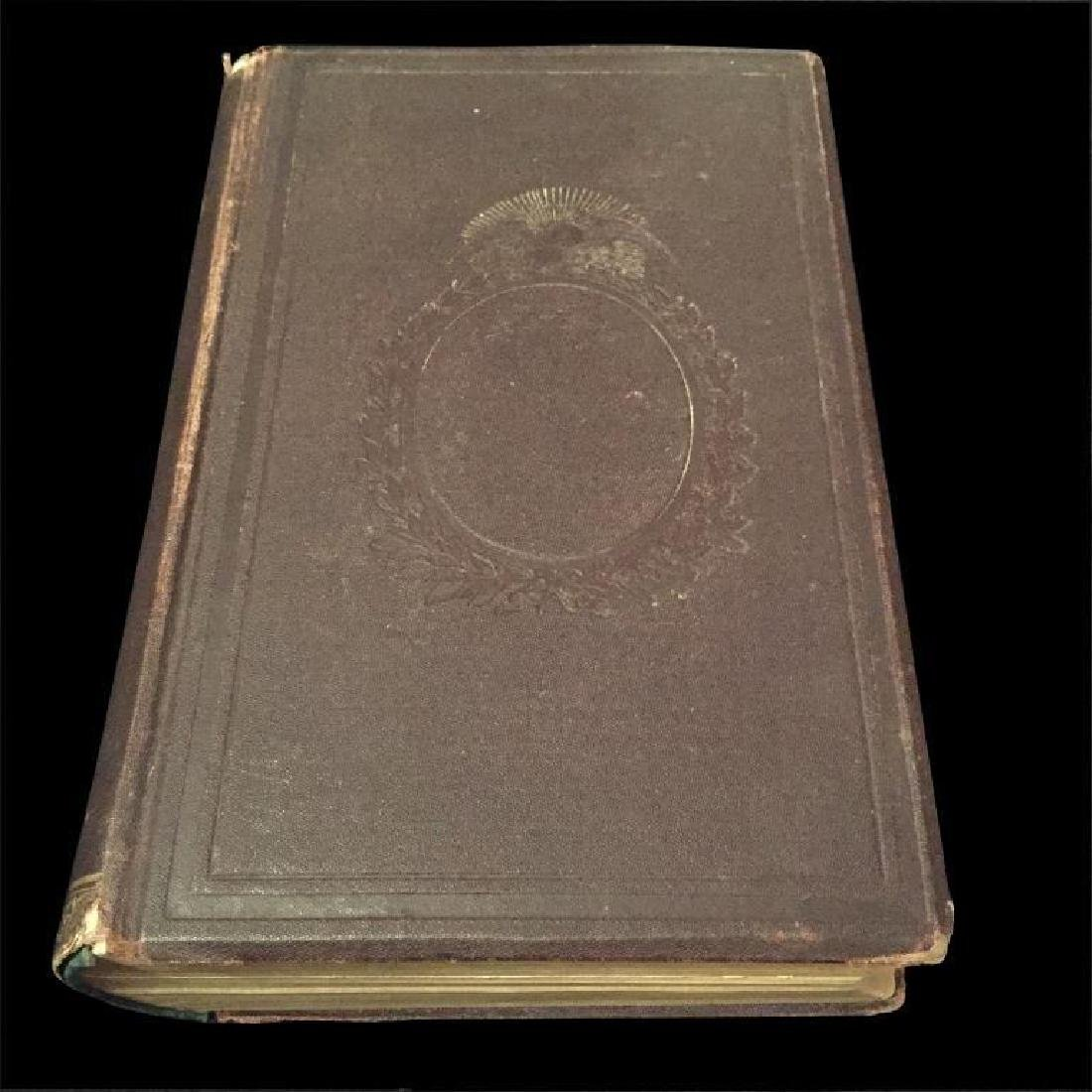 19thc Civil War New Jersey History Book - 2