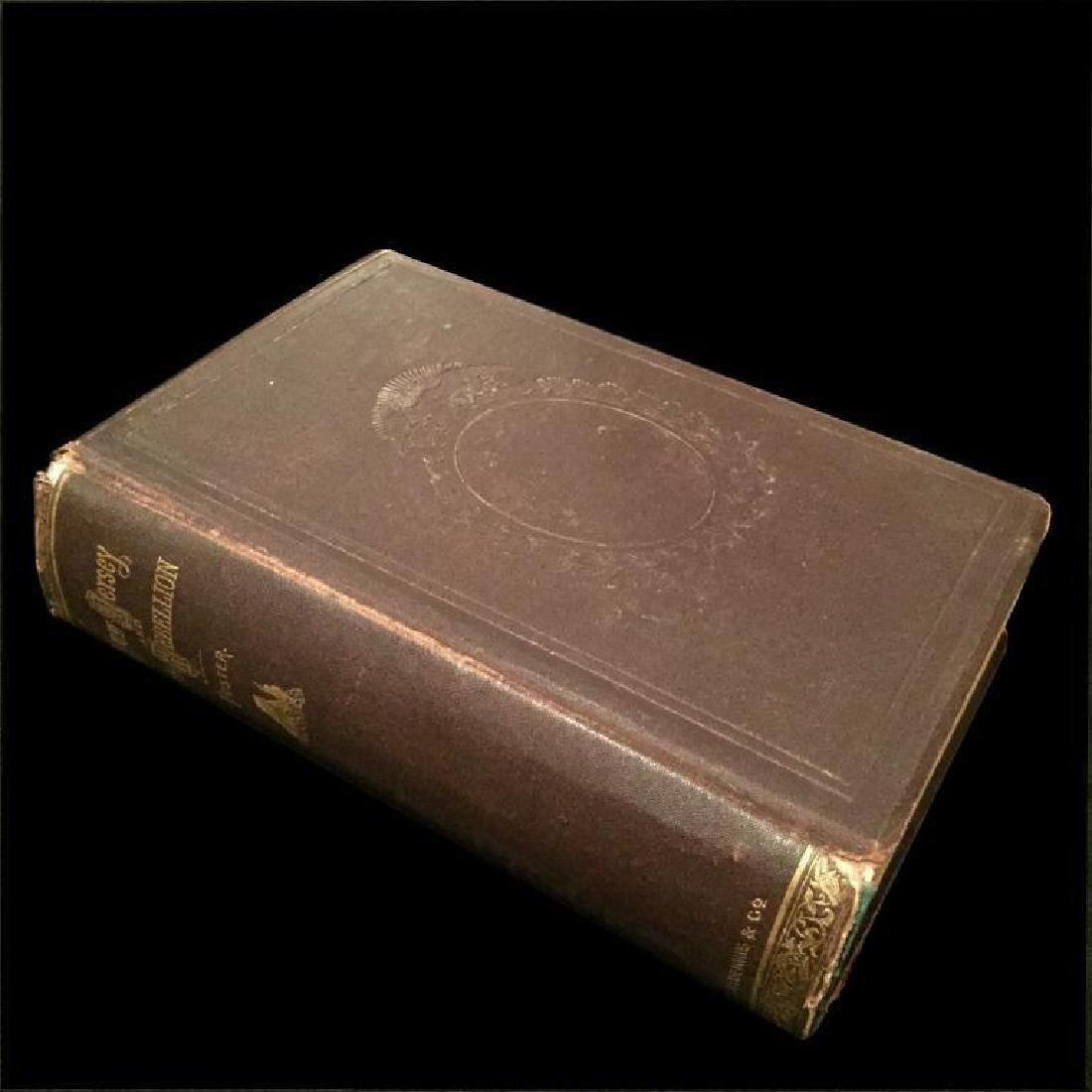 19thc Civil War New Jersey History Book - 3