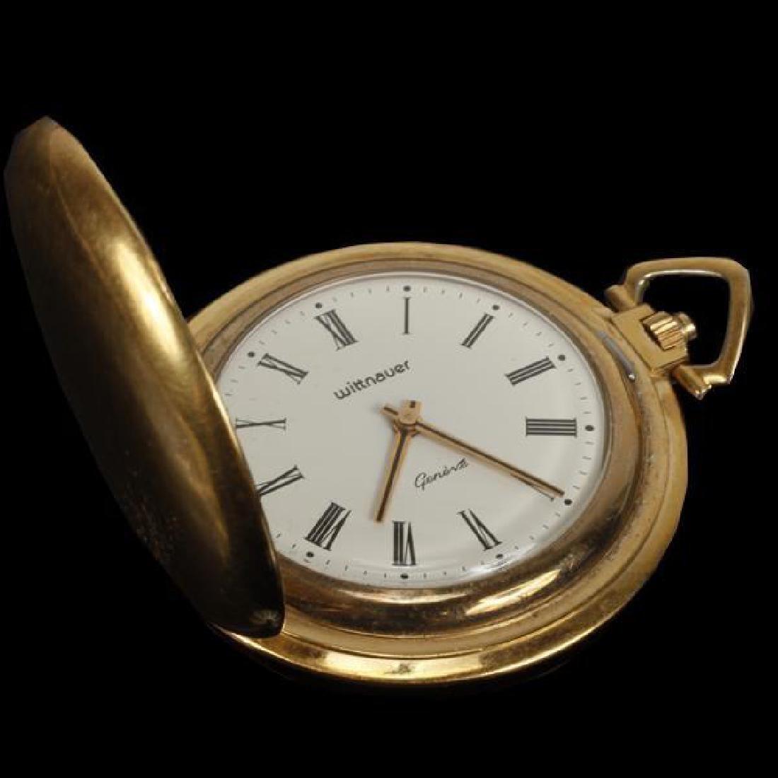 Geneve Gold filled pocket watch