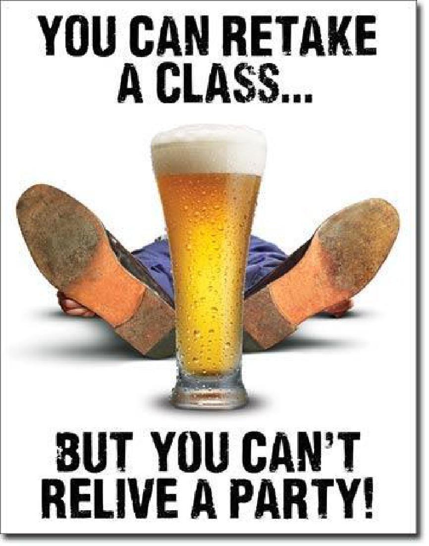 Pint of Beer Metal Pub Sign