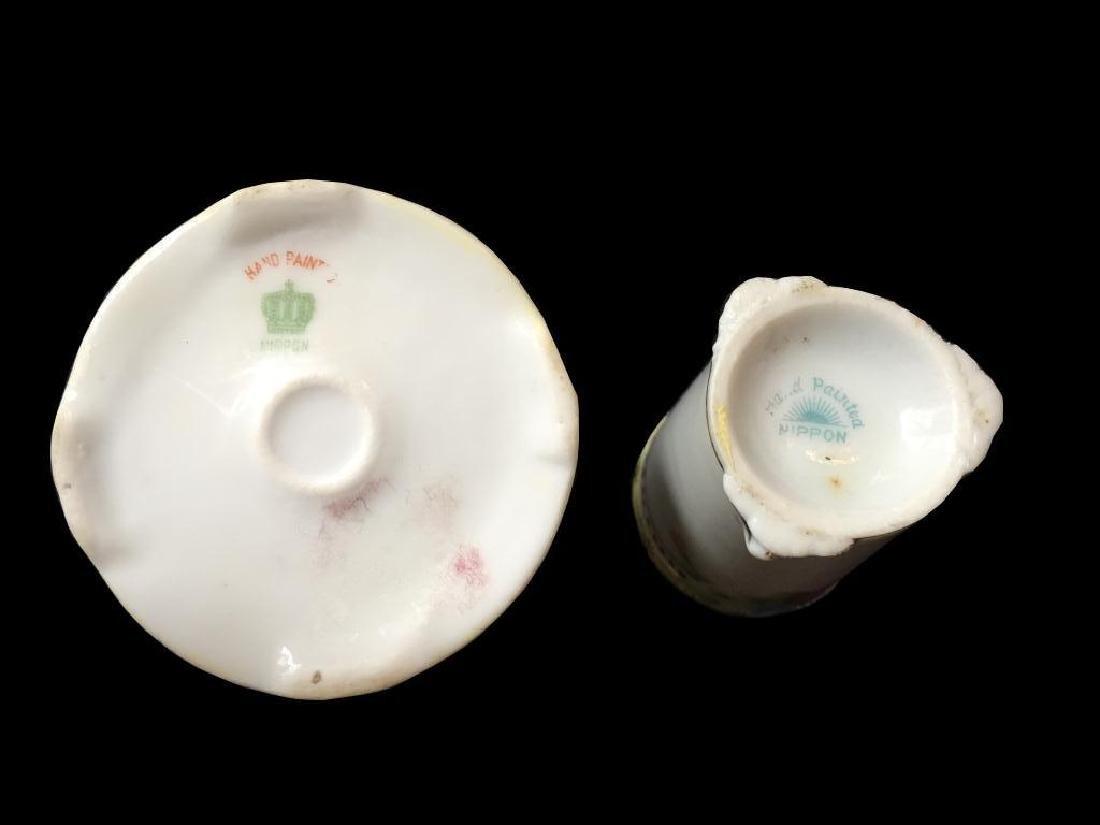 Pair of Vintage Nippon Toothpick Holders - 2