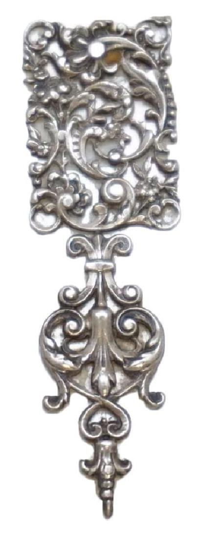 Victorian Mop Page Turner With Silver - 3