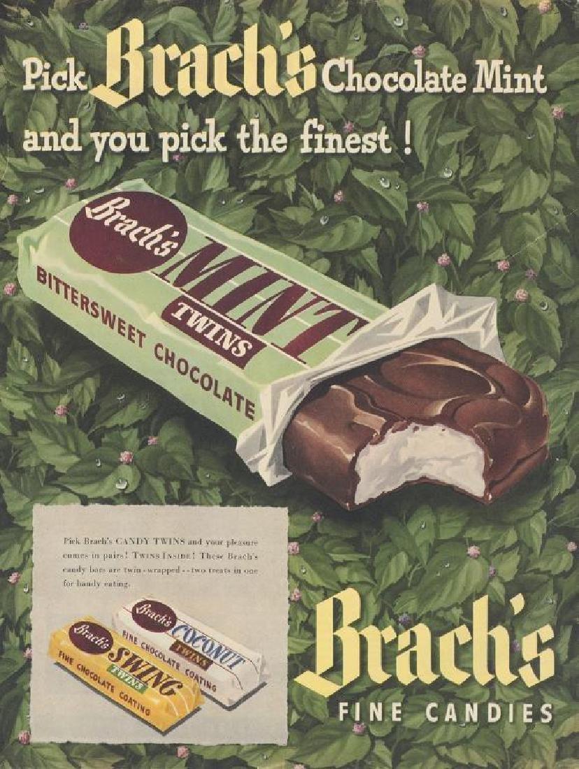 1948 Brach's Fine Candies Advertisement
