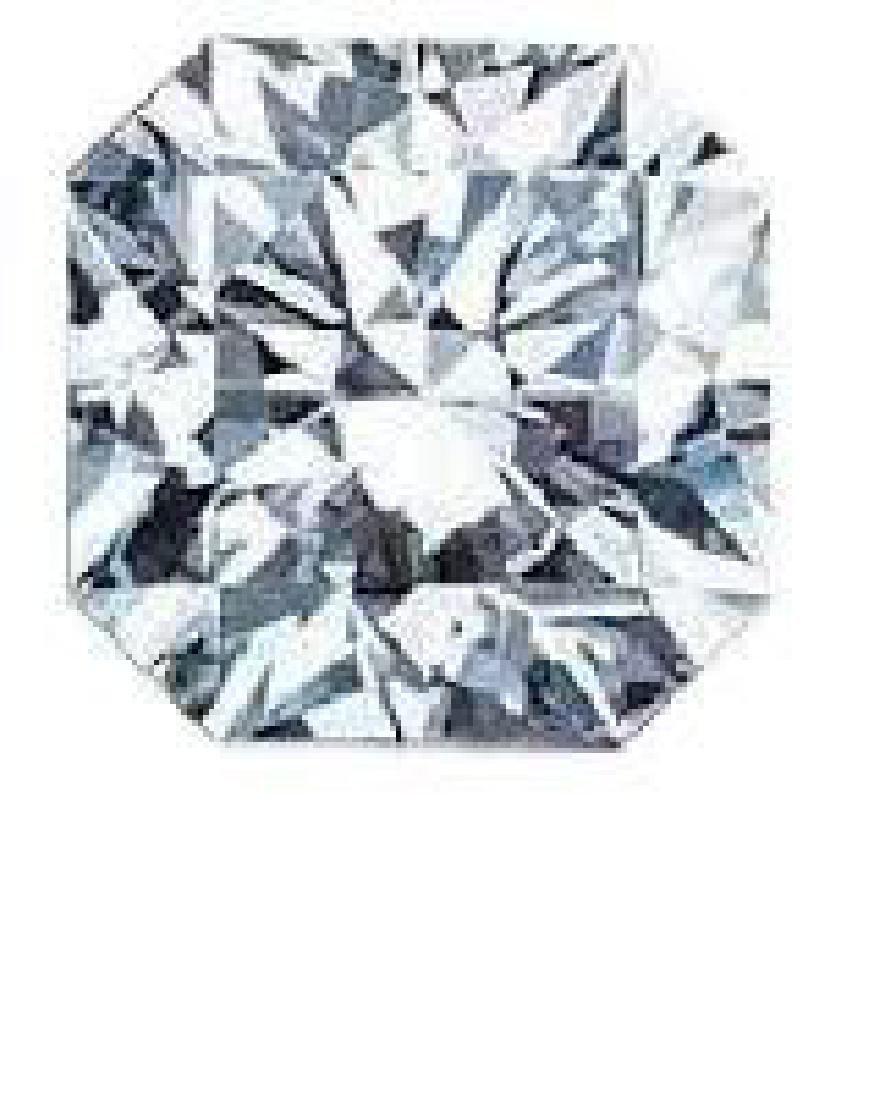 1 Ct  Flanders Cut Bianco Diamonds - 2