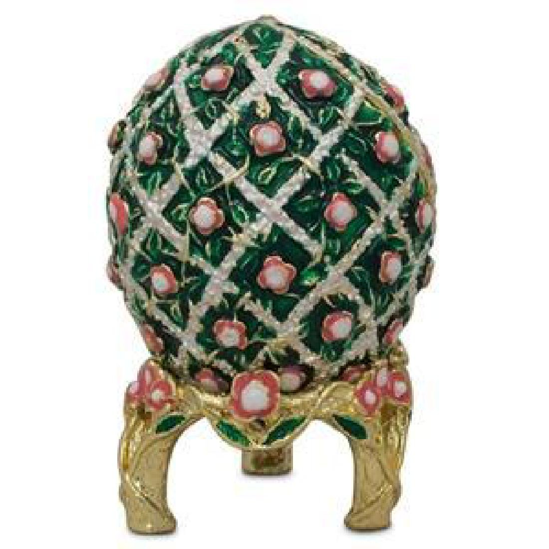 1907 Rose Trellis Russian Faberge Egg