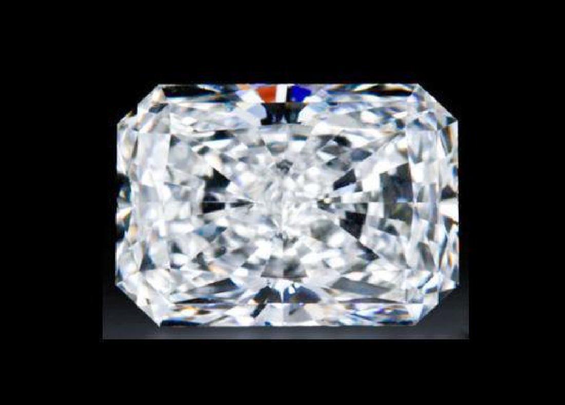 1.7CT (8x6mm) Radiant Cut Bianco Diamond