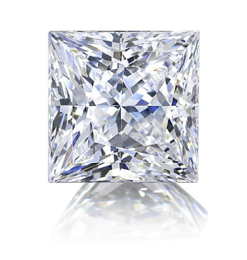 .5 ct Princess Cut BIANCO Diamond