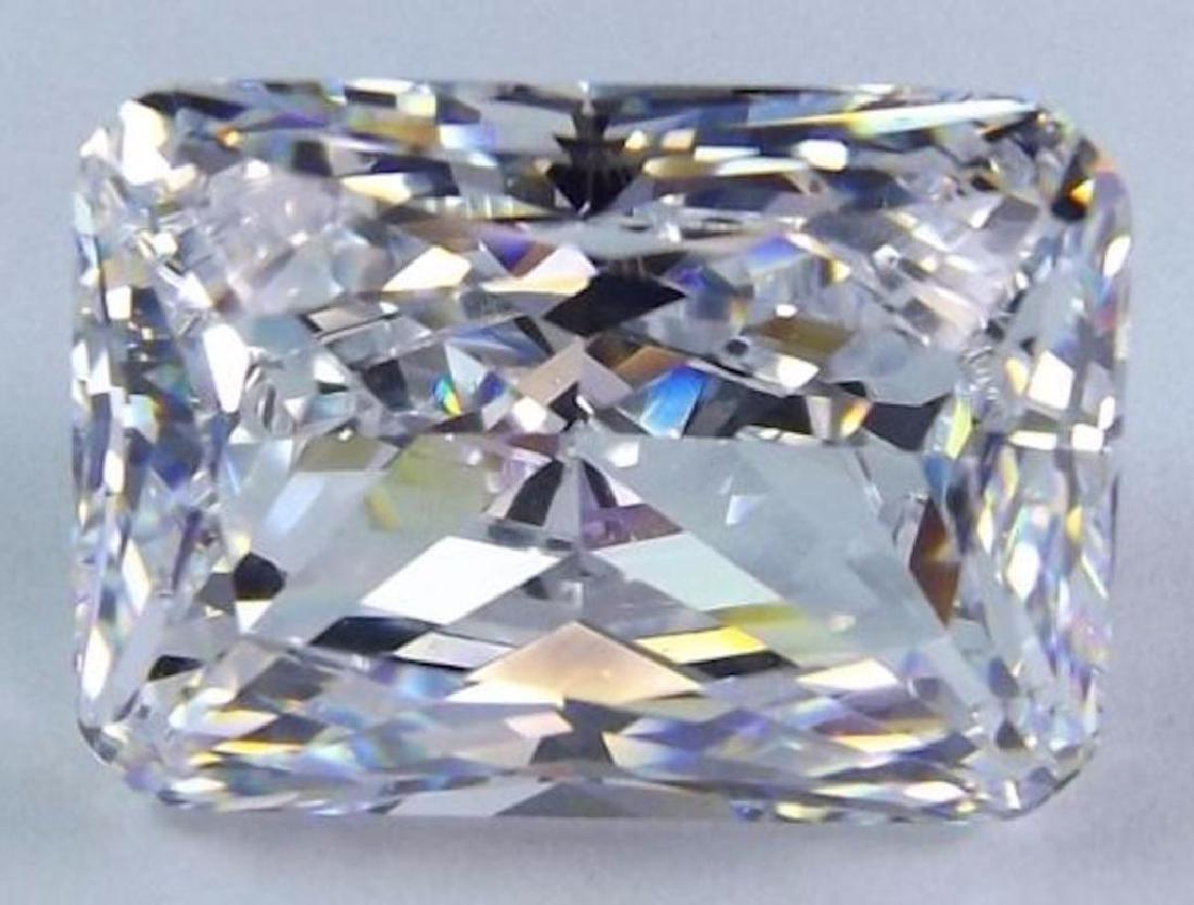 1.06cts Octagon Cut Bianco Diamond 6AAAAAA Loose