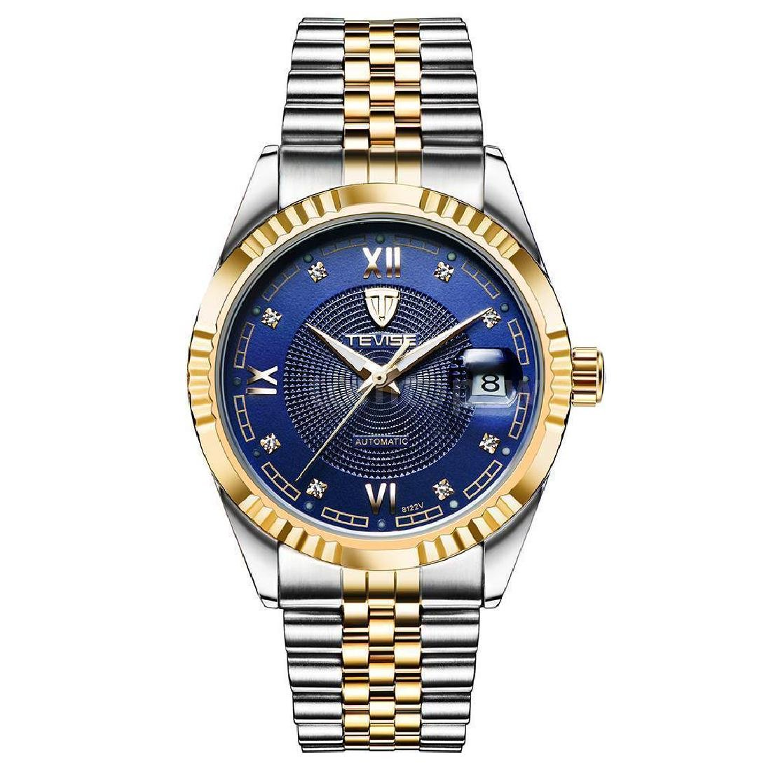 Tevise Stainless Steel Automatic Mechanical Men