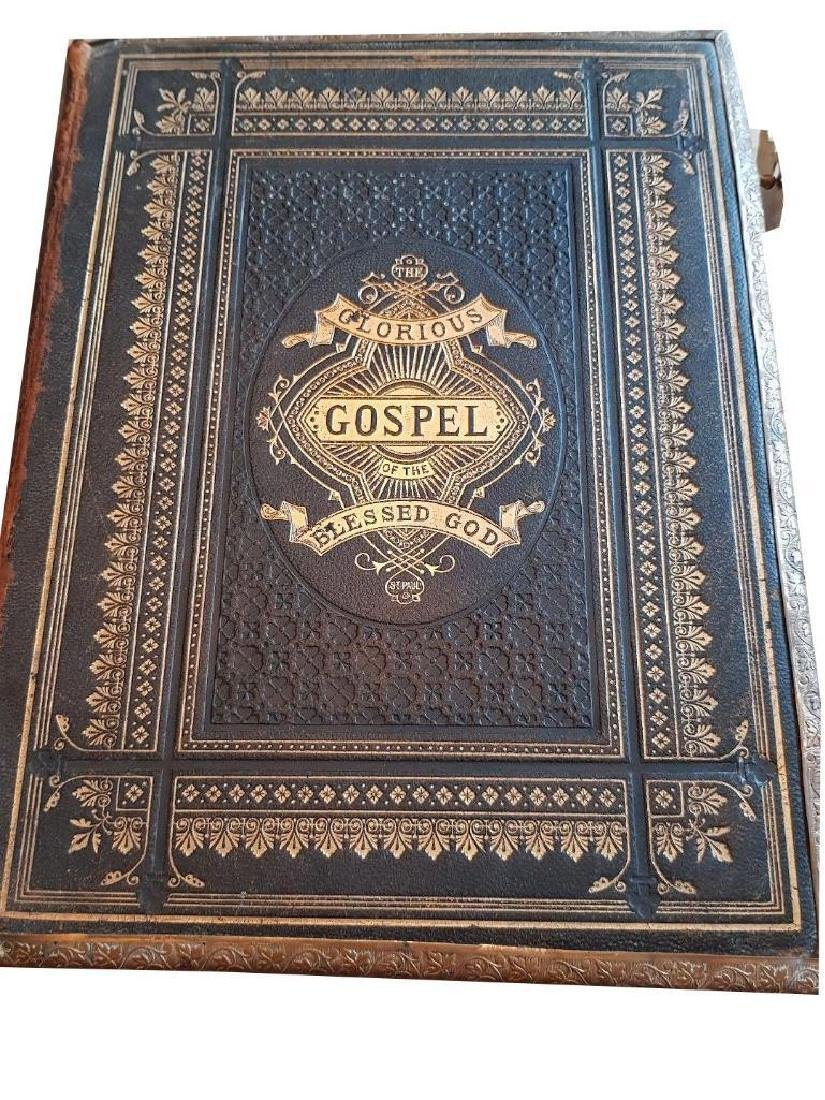 Antique Holy Bible Illustrated