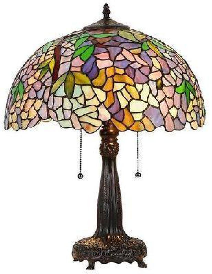 Tiffany Style Table Lamp Victorian Mission Craftsman