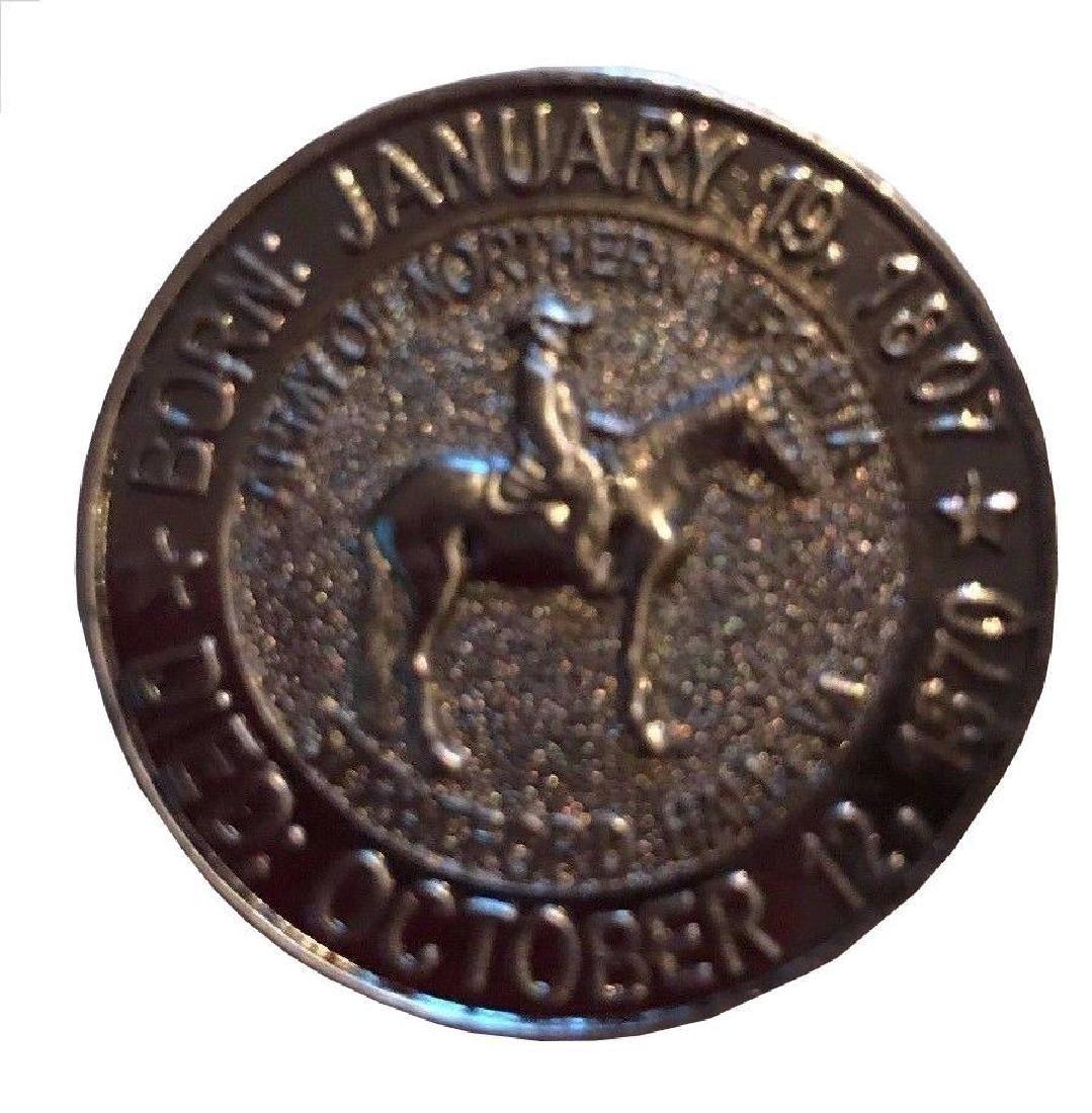 America Civil War General Robert E Lee Coin 13199