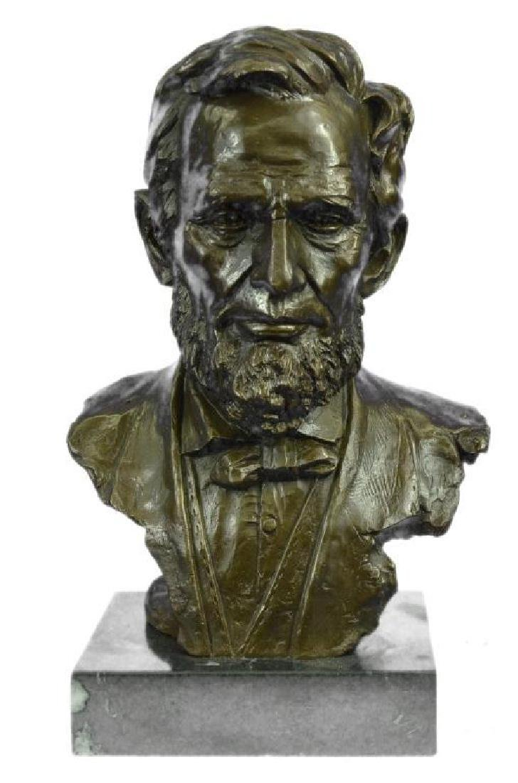 Large Limited Edition Abraham Lincoln USA President
