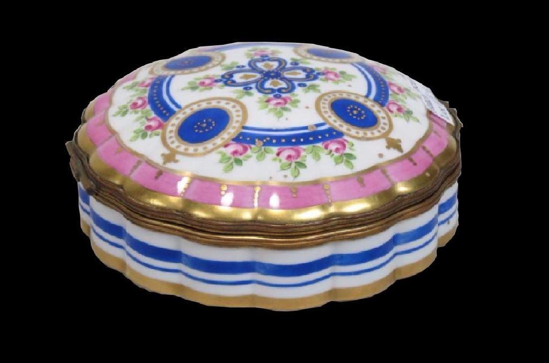 French Porcelain                    Hand Painted