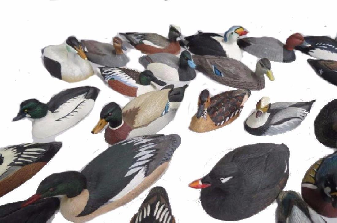 37 pc. Miniature Duck Decoy Collection