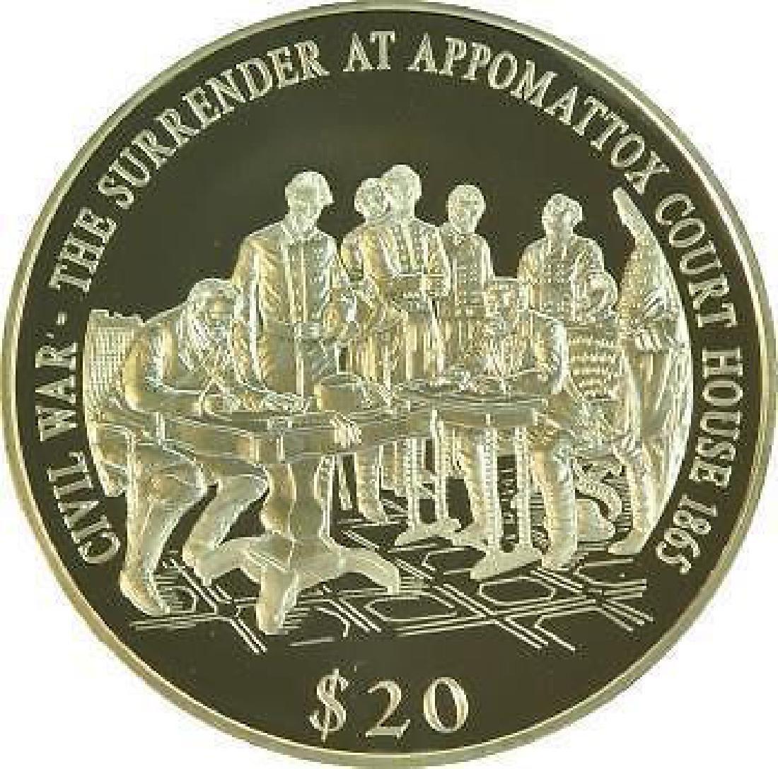 Liberia 2000 Civil War Surrender At Appomattox 20