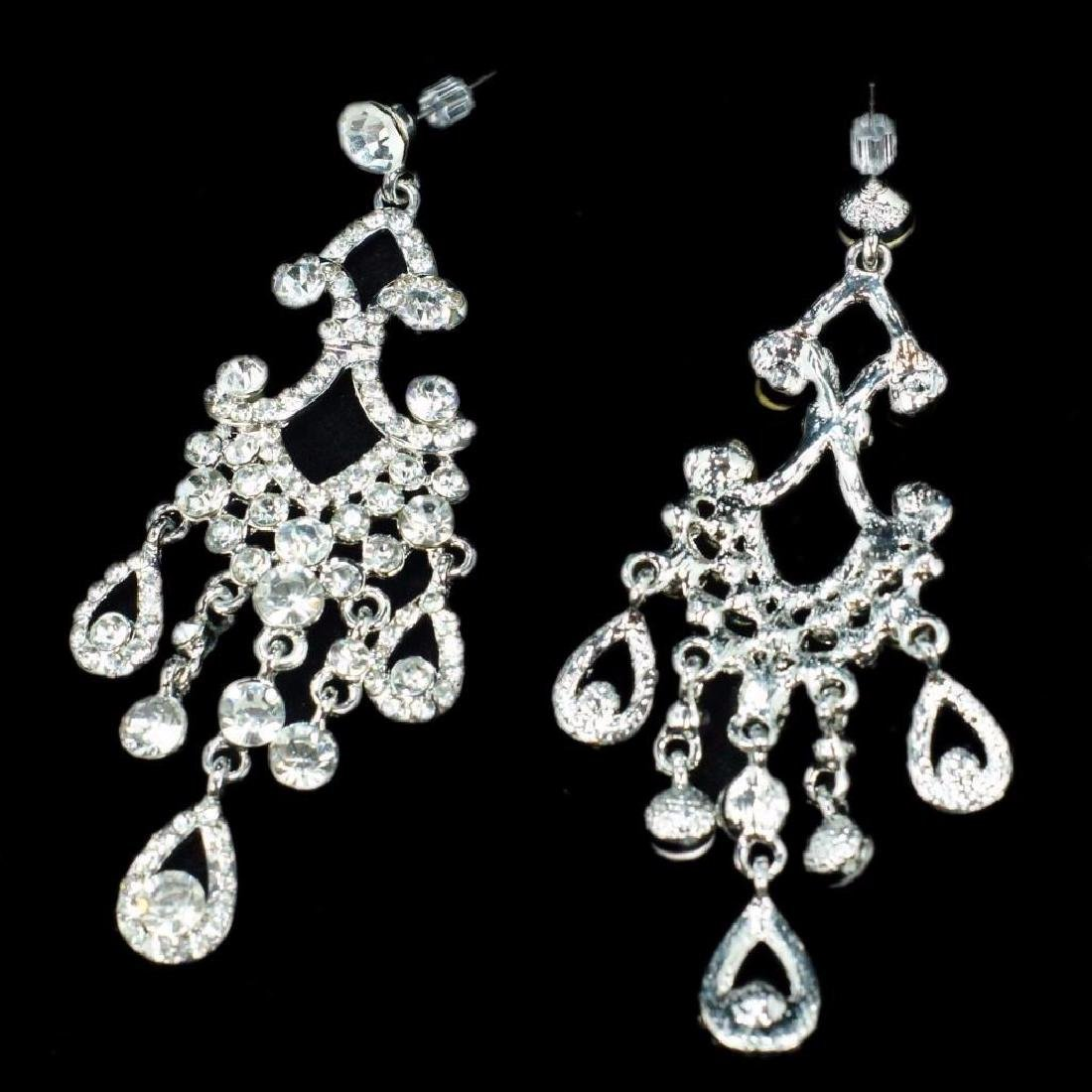 Chandelier Dangle Earrings Designer Costume Jewelry