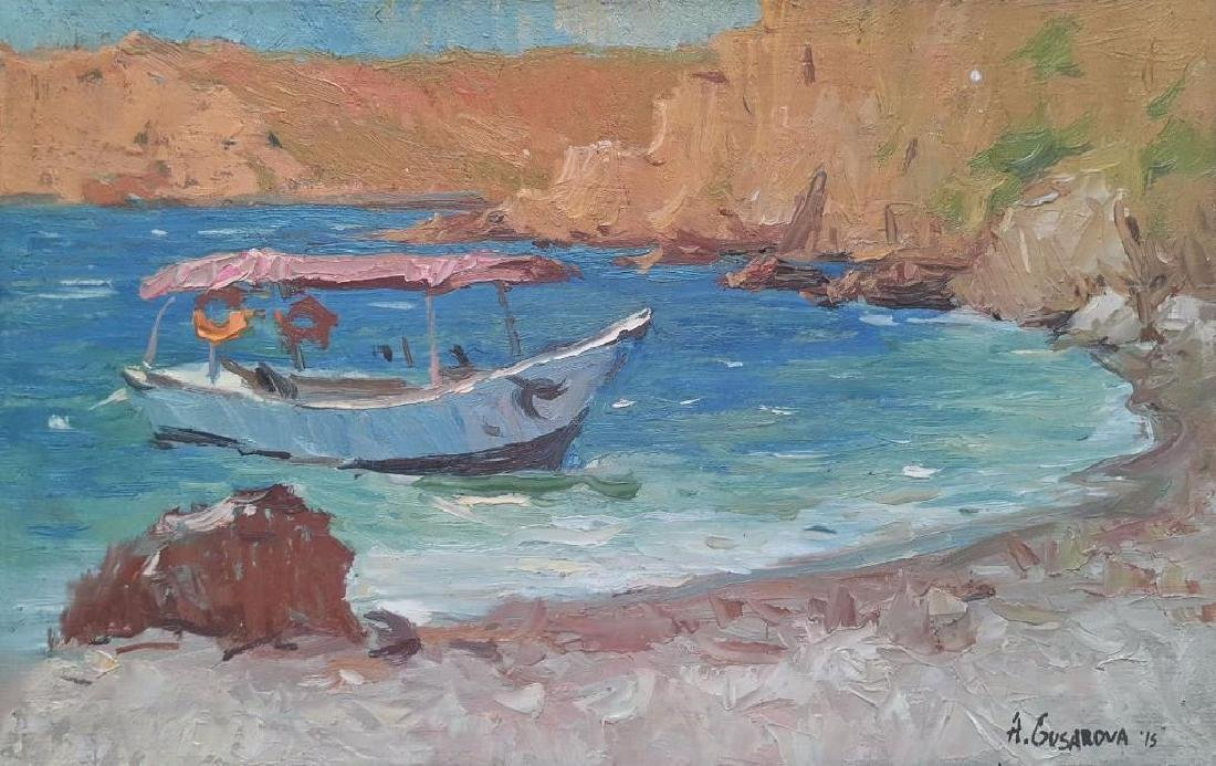 ORIGINAL OIL PAINTING IMPRESSIONISM Plein Air Sunny