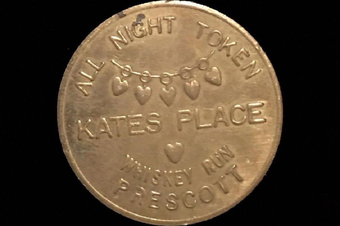 Brothel Token Kate's Place Prescott Arizona Check Coin